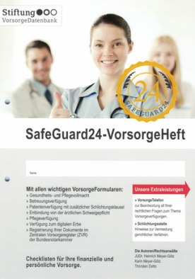 SafeGuard24 - VorsorgeHeft